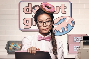 I'd buy donuts from her...